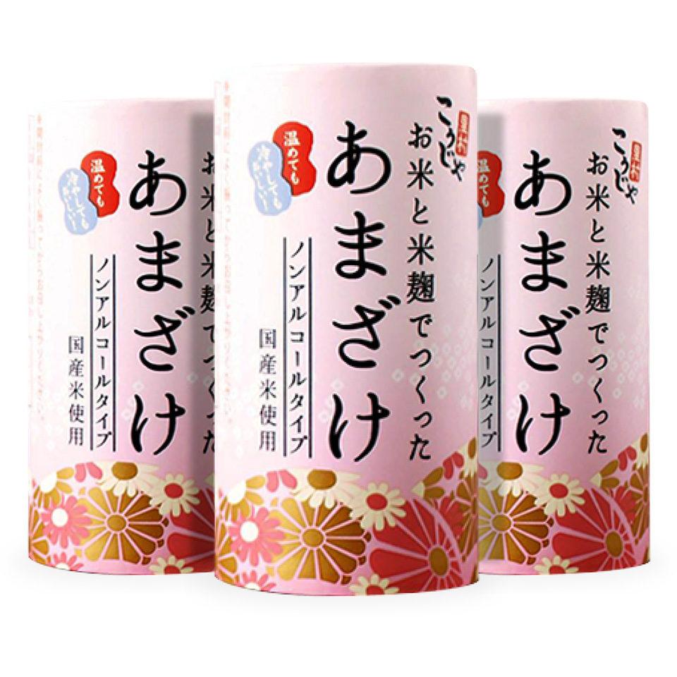 お米と米麹でつくったあまざけ(カート缶)